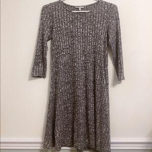 Charlotte Russe Grey Sweater Dress